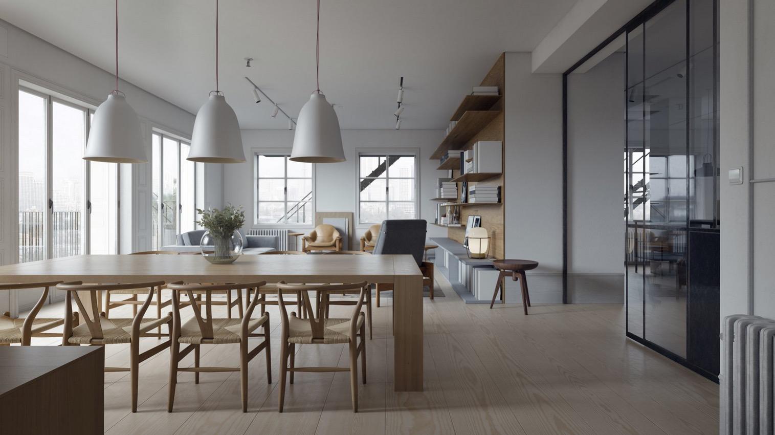 dining room design modern | 20 Modern Dining Rooms for Inspiration