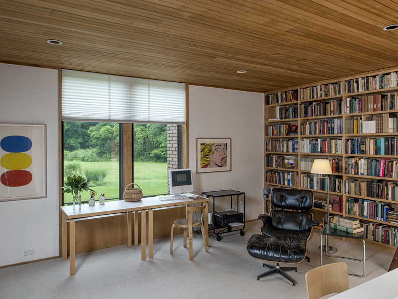 The dana house is a mid century marvel in connecticut