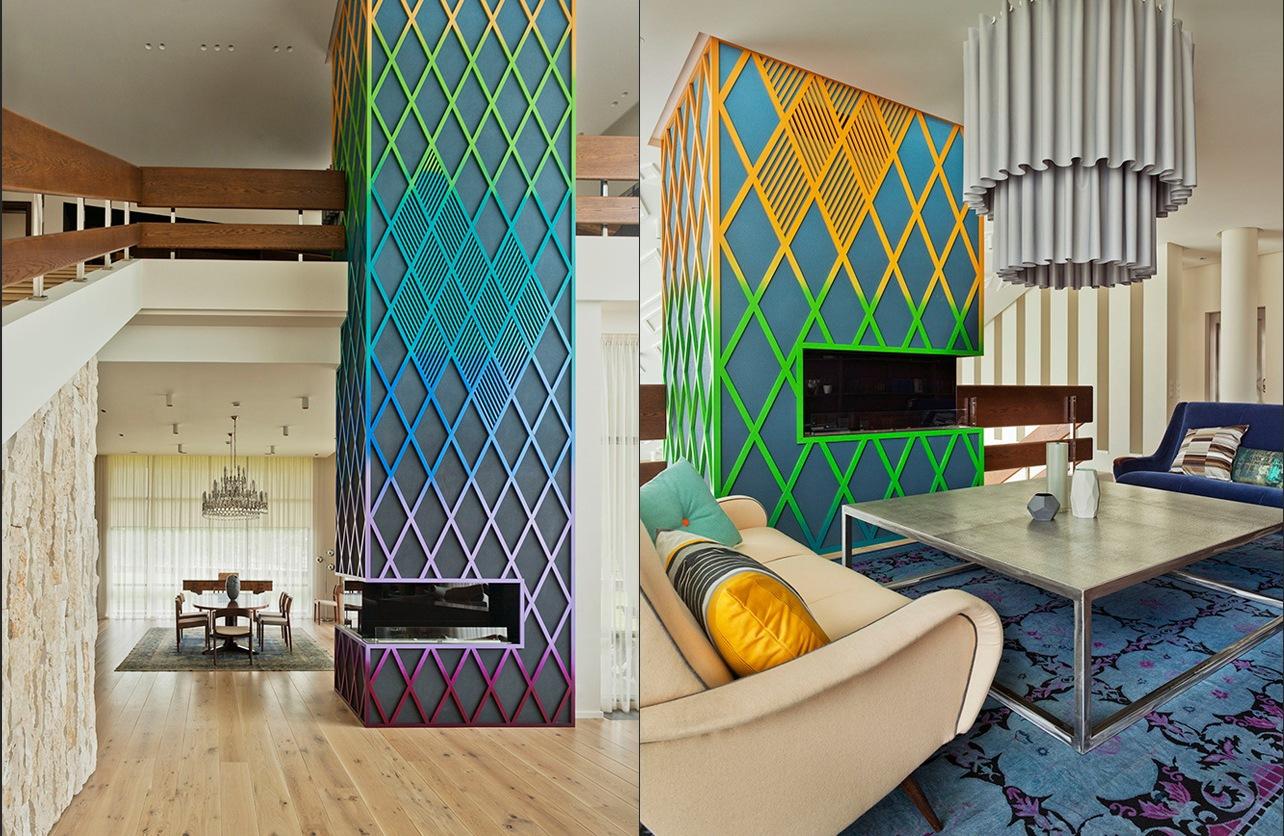 Super Funky Fireplace Interior Design Ideas