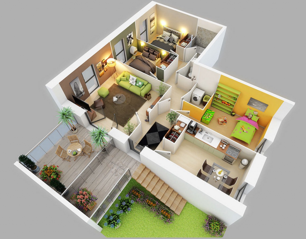 Home Design Ideas 3d