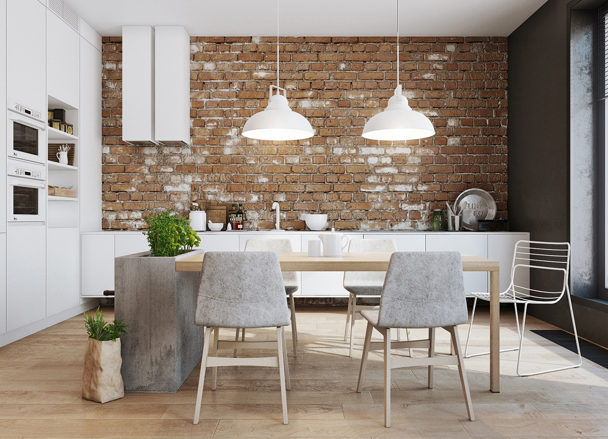 new brick home designs.  5 Houses That Put A Modern Twist On Exposed Brick