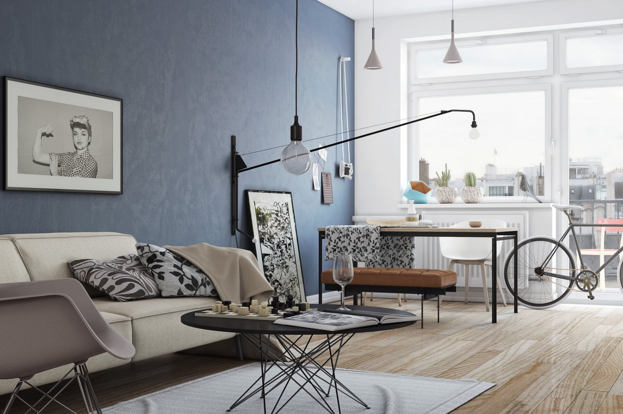 Superbe Hipster Living Room. Download By Size:Handphone Tablet Desktop (Original  Size)