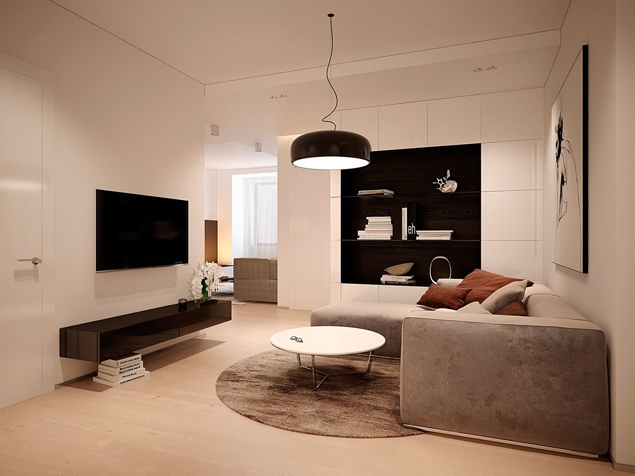 Soft suede sofa interior design ideas for Ambiente soggiorno moderno