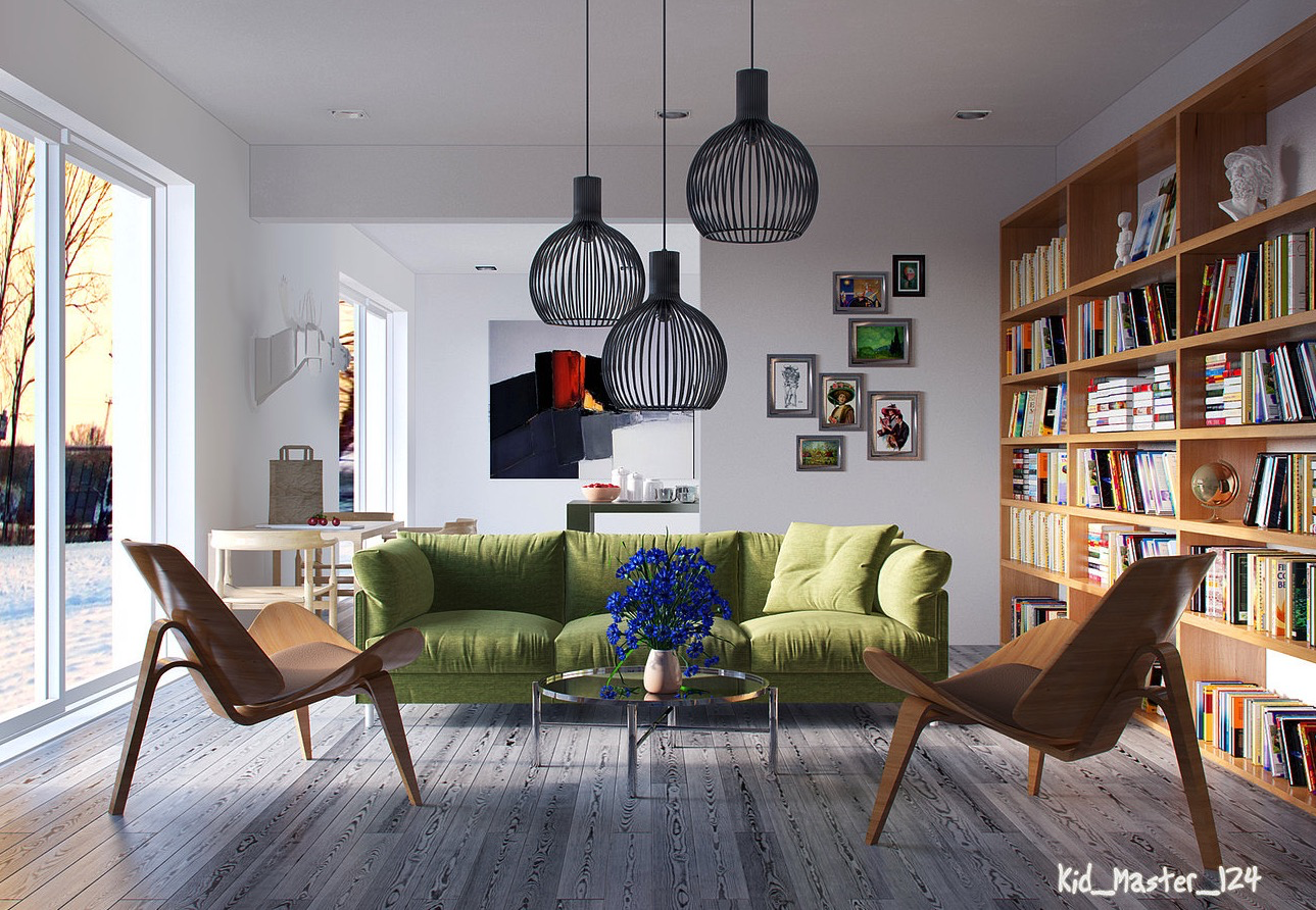 4 Creative Living Rooms for Style Inspiration