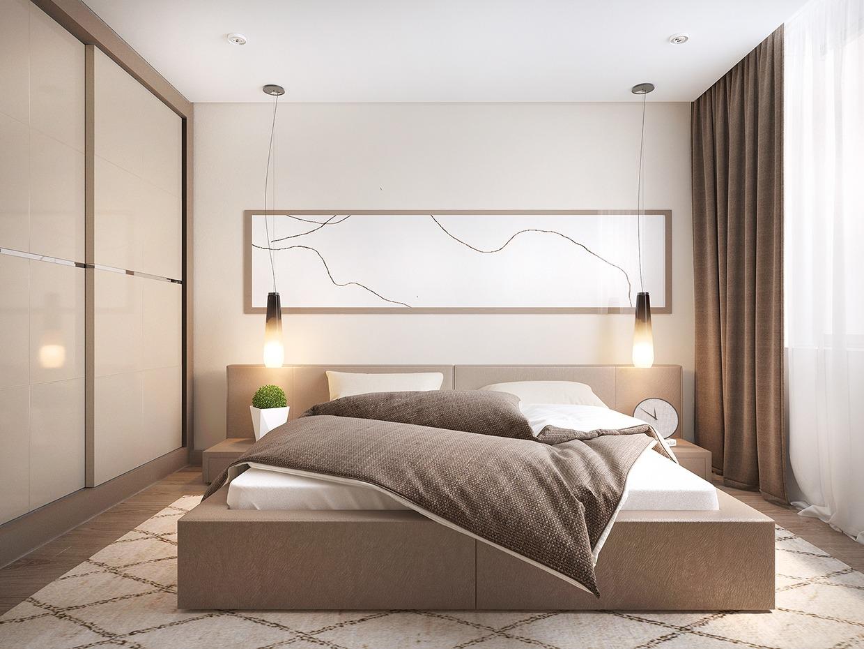 taupe-bedroomInterior Design Ideas.