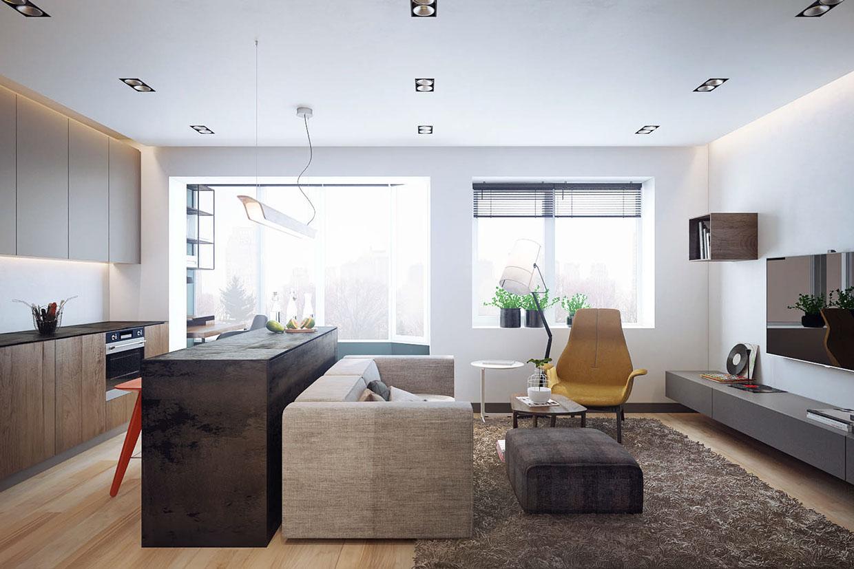 Urban Apartment Design Interior Design Ideas