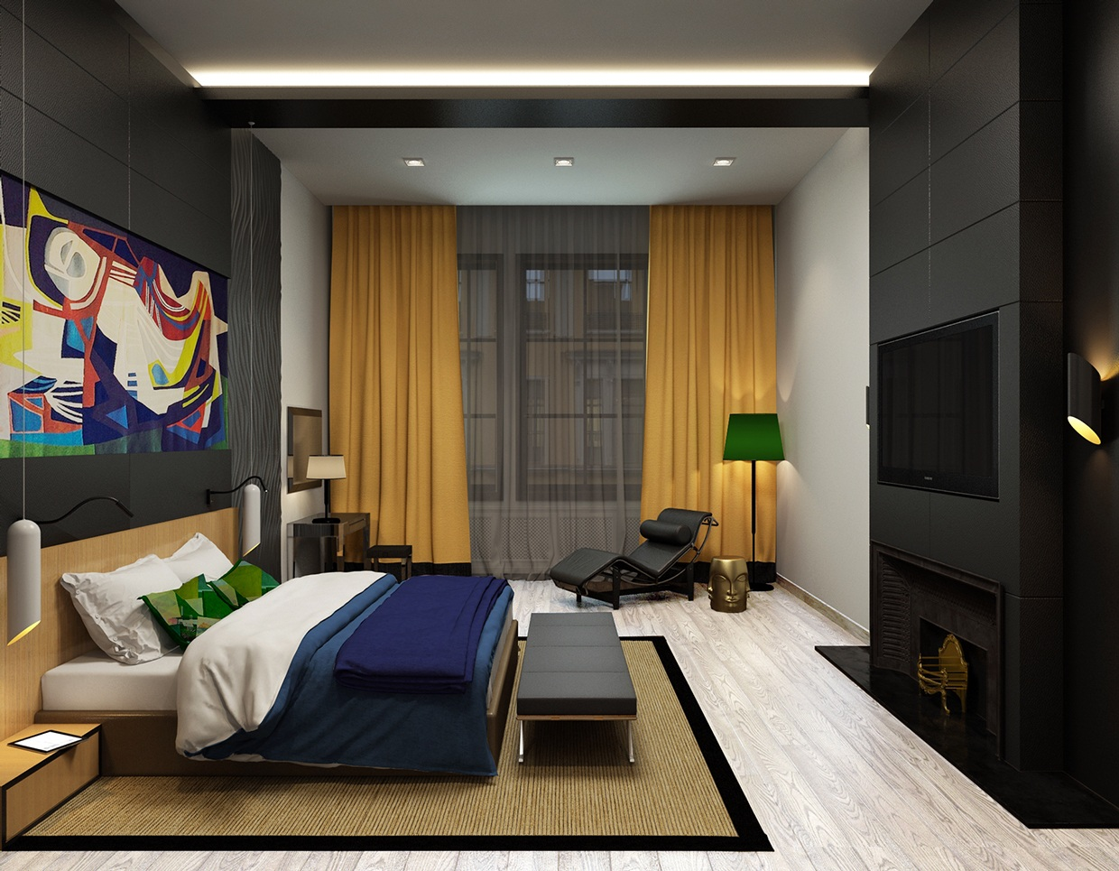 Apartment Layout Living Room