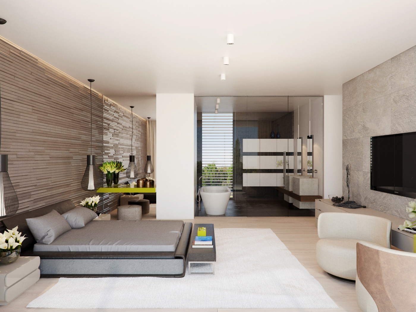 modern-master-bedroom | Interior Design Ideas.