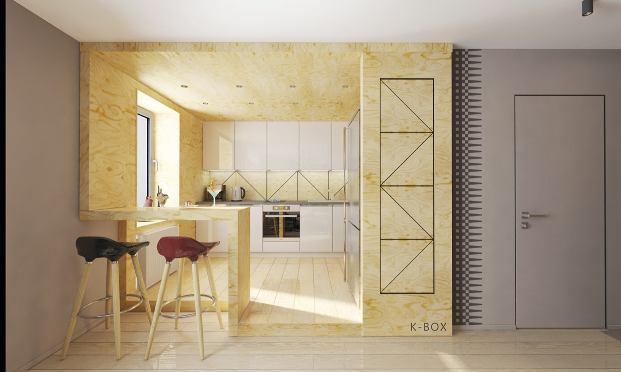 plywood-kitchenInterior Design Ideas.