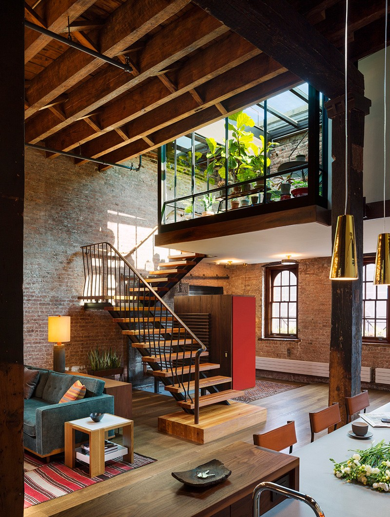 southwest rooftop oasis interior remodel nyc warehouse bohemian industrial anchors inspired loft modern decor architecture contemporary decorating interiors chic wardrobe