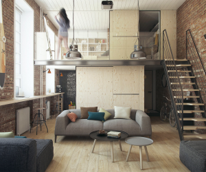 Small Loft Apartment Design Ideas - Home Desain 2018