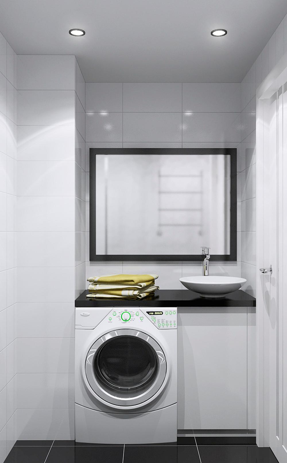 white-laundry-room | interior design ideas.
