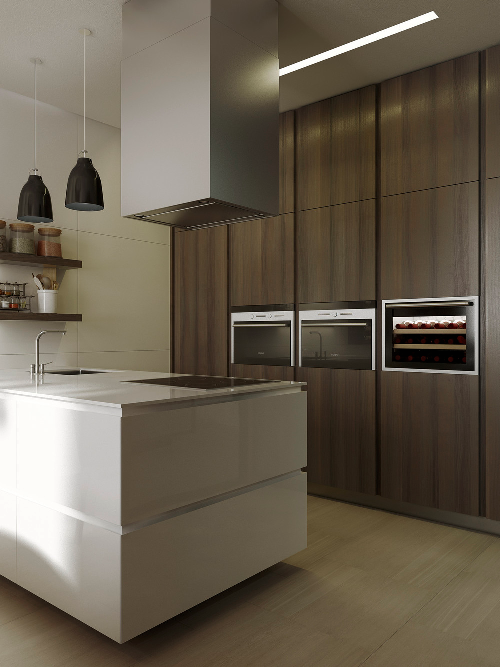 kitchen designs with built in ovens 10 modern kitchens that any home chef would envy 565