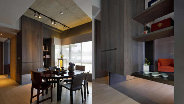 Concrete and wood two taiwan homes take beautiful inspiration from nature concrete and wood