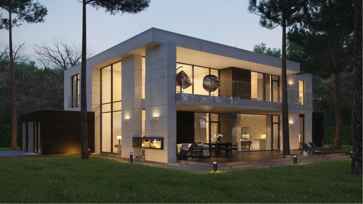 Modern Box Home Interior Design Ideas