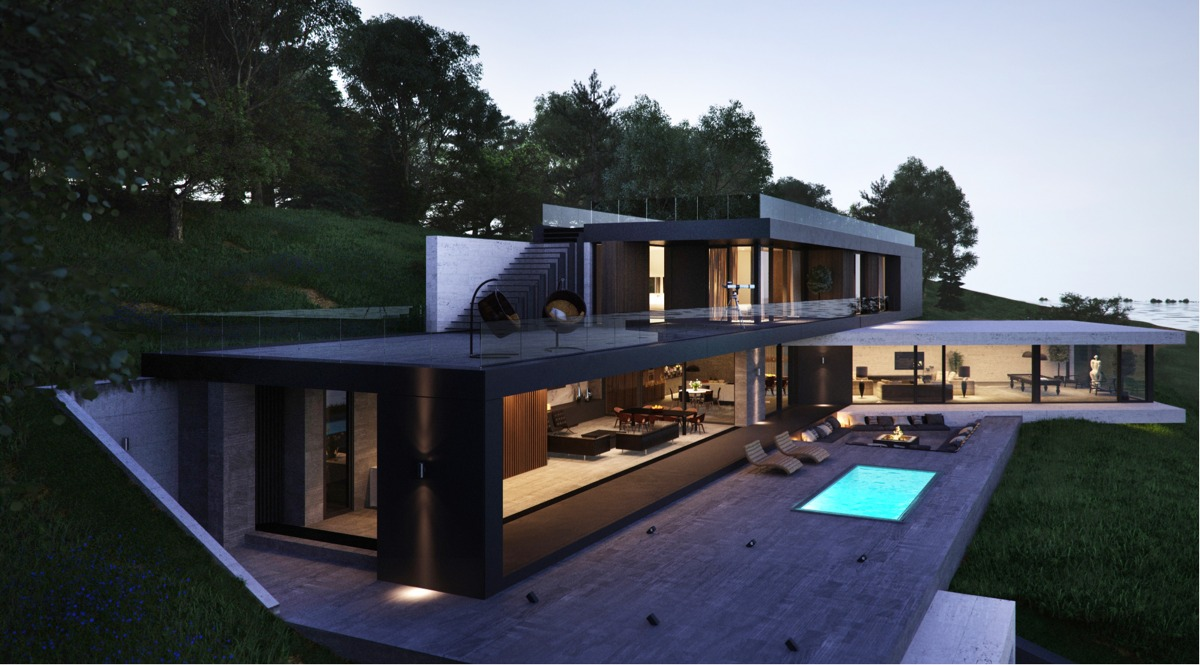 Modern Home xteriors with Stunning Outdoor Spaces - ^