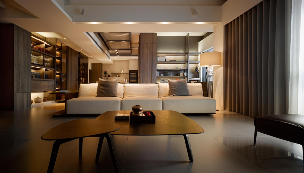 Nesting coffee tables two taiwan homes take beautiful inspiration from nature nesting coffee tables