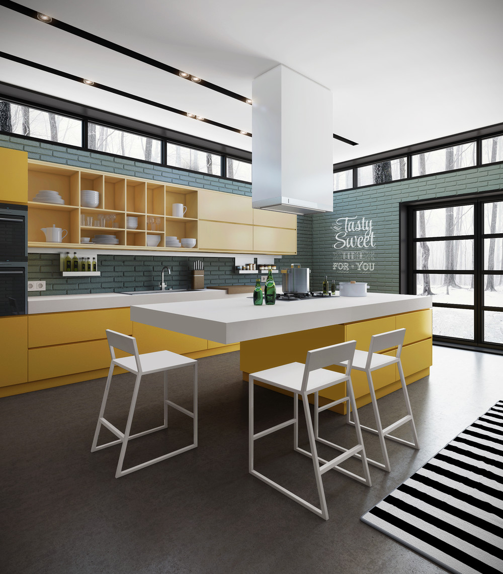 10 Modern Kitchens hat ny Home hef Would nvy - ^
