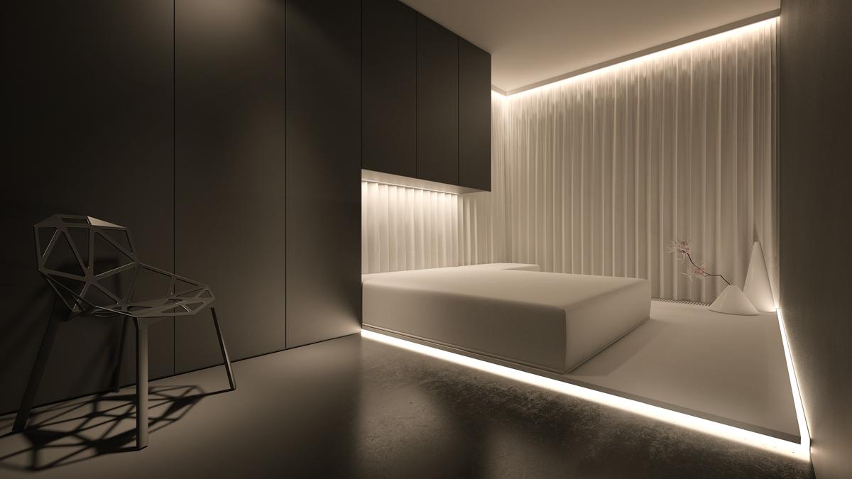Soft Bedroom Lighting Interior Design Ideas