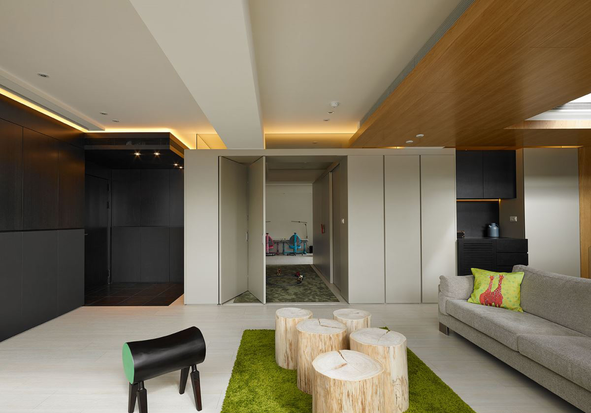 Interior: Minimalist Luxury From Asia: 3 Stunning Homes By Free Interior