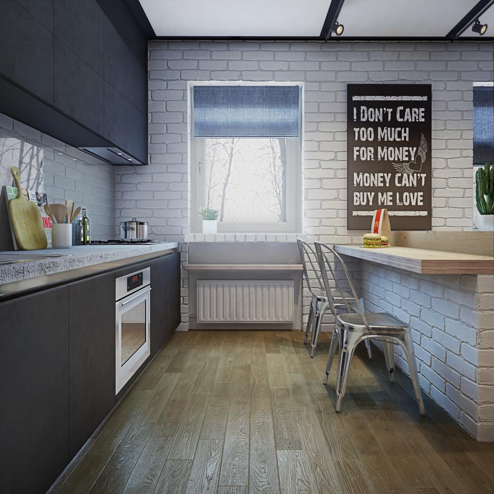 White Brick Kitcheninterior Design Ideas