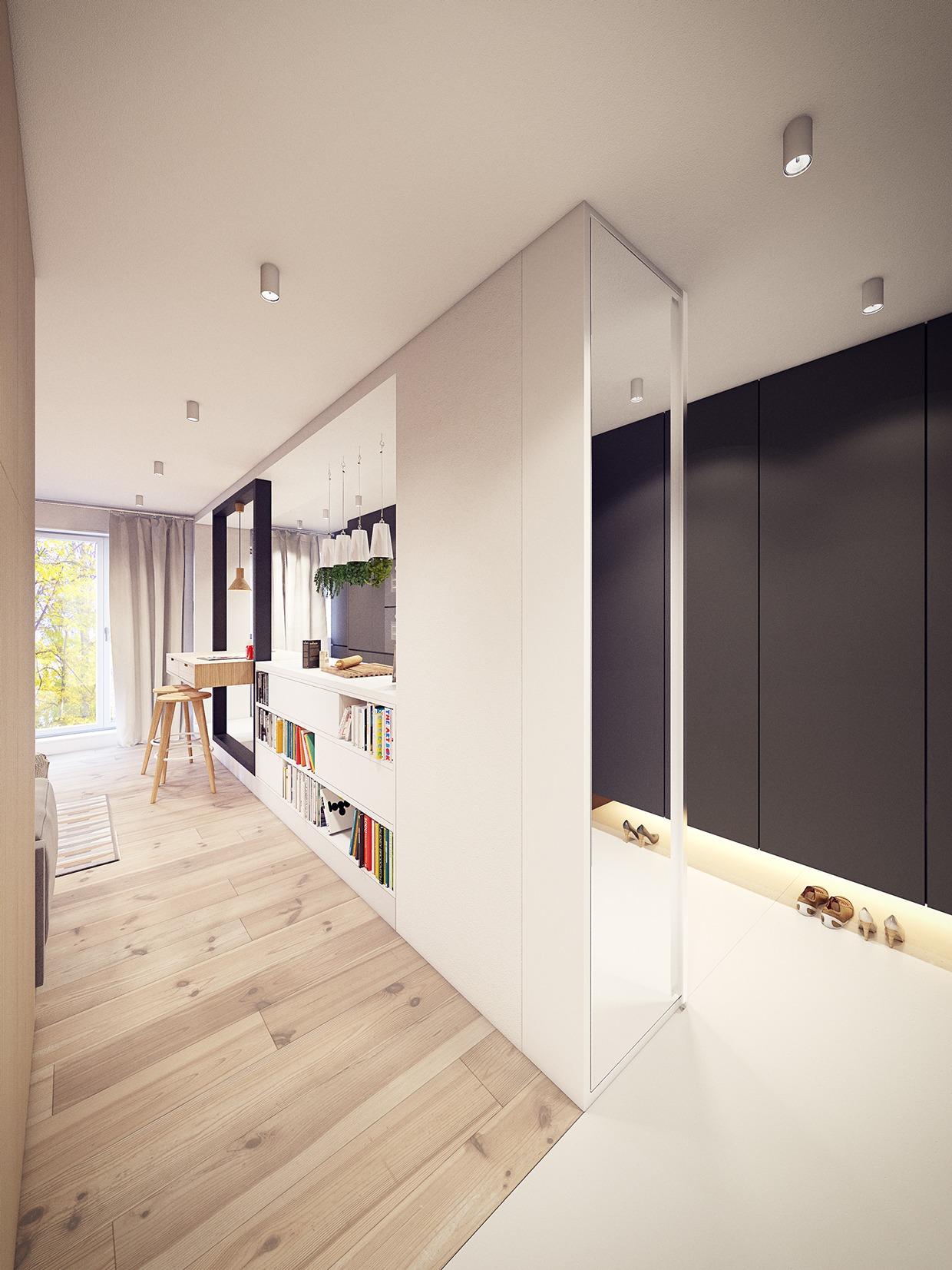 Custom Room Design Online: White-custom-room-divider
