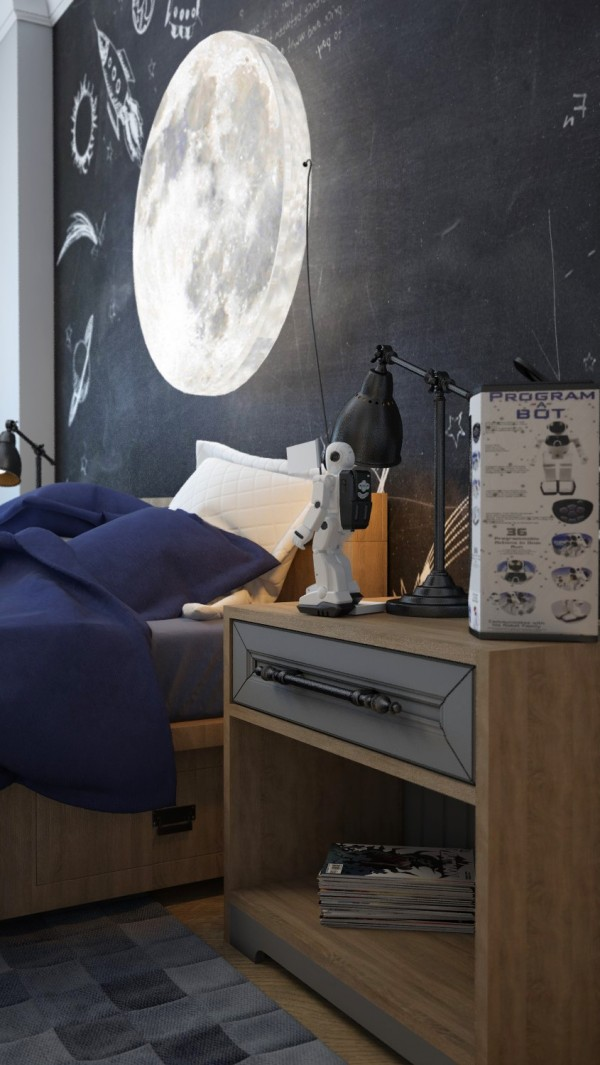 moon light for bedroom colorful rooms with plenty of playful style 16471