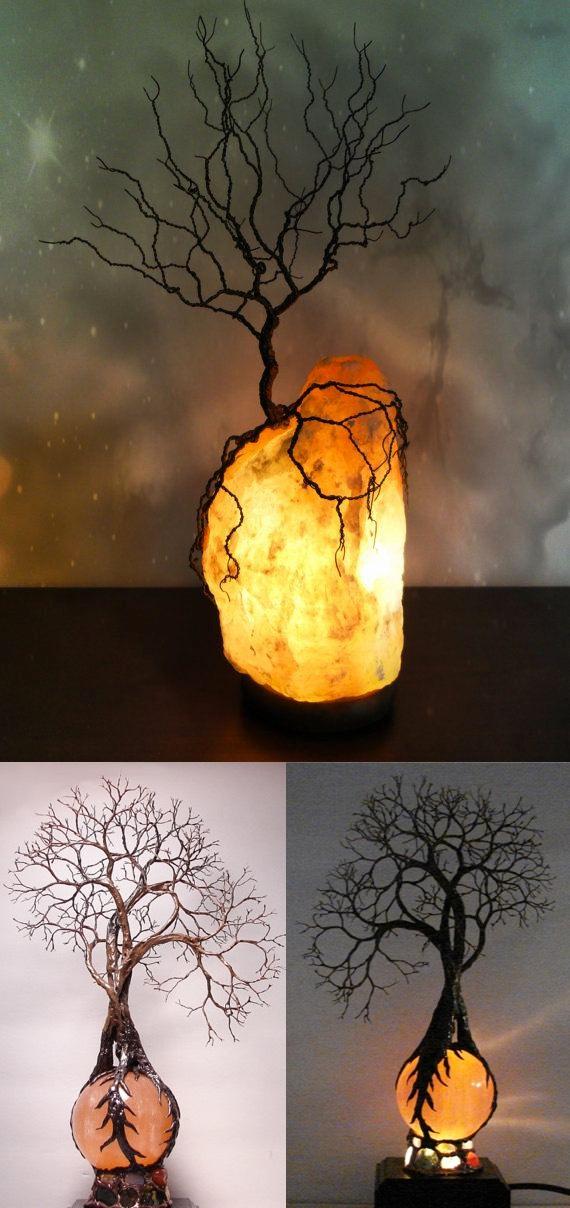 Dead tree lamp a set of extraordinary lights