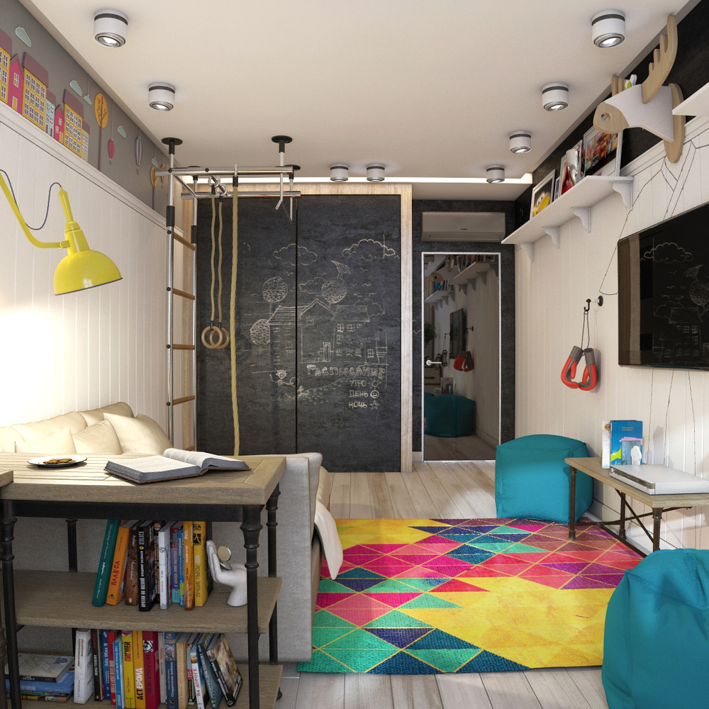 Decorating Ideas For Study Spaces: Funky Rooms That Creative Teens Would Love