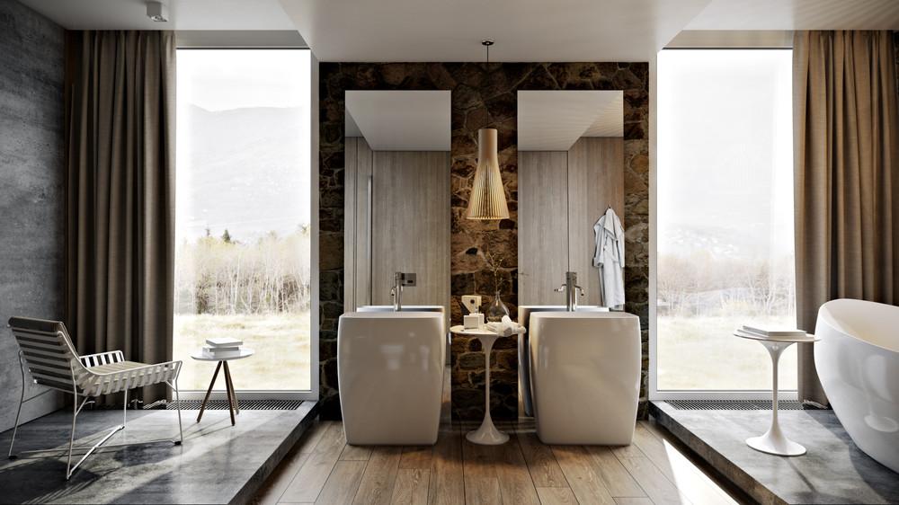 Luxury wood bathroom 5 luxury bathrooms in high detail