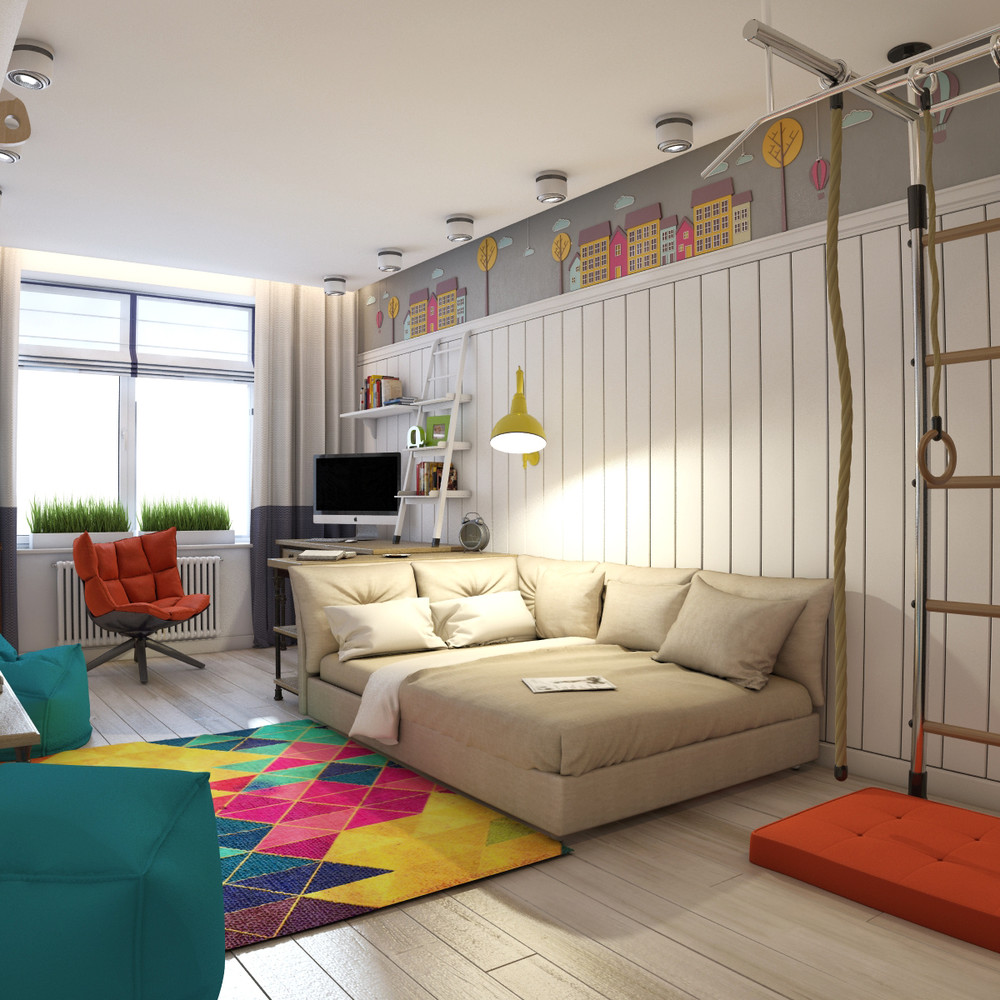 Creative Bedrooms That Any Teenager Will Love: Funky Rooms That Creative Teens Would Love