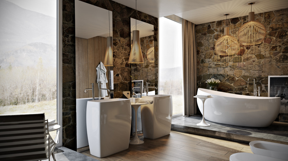 5 Luxury Bathrooms In High Detail on wood marble, wood bathroom flooring, wood luxury bedroom, wood luxury kitchens,