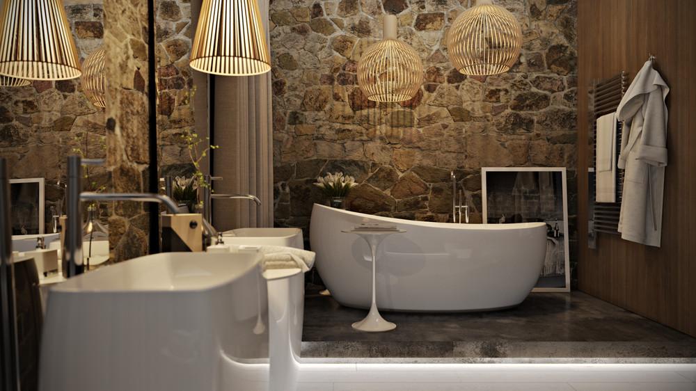 Stone bathroom design 5 luxury bathrooms in high detail