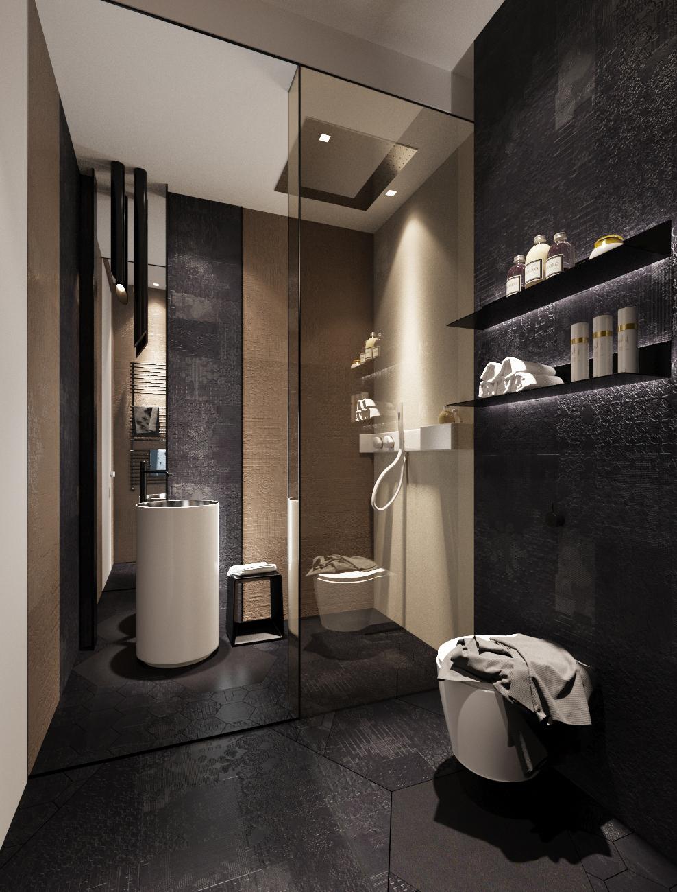 Toilet Room Ideas Green
