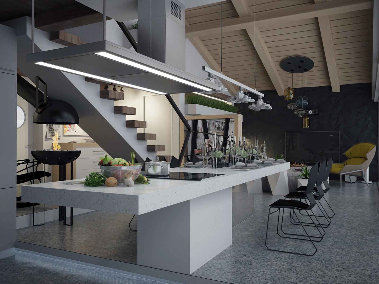 Big Kitchen Designinterior Design Ideas