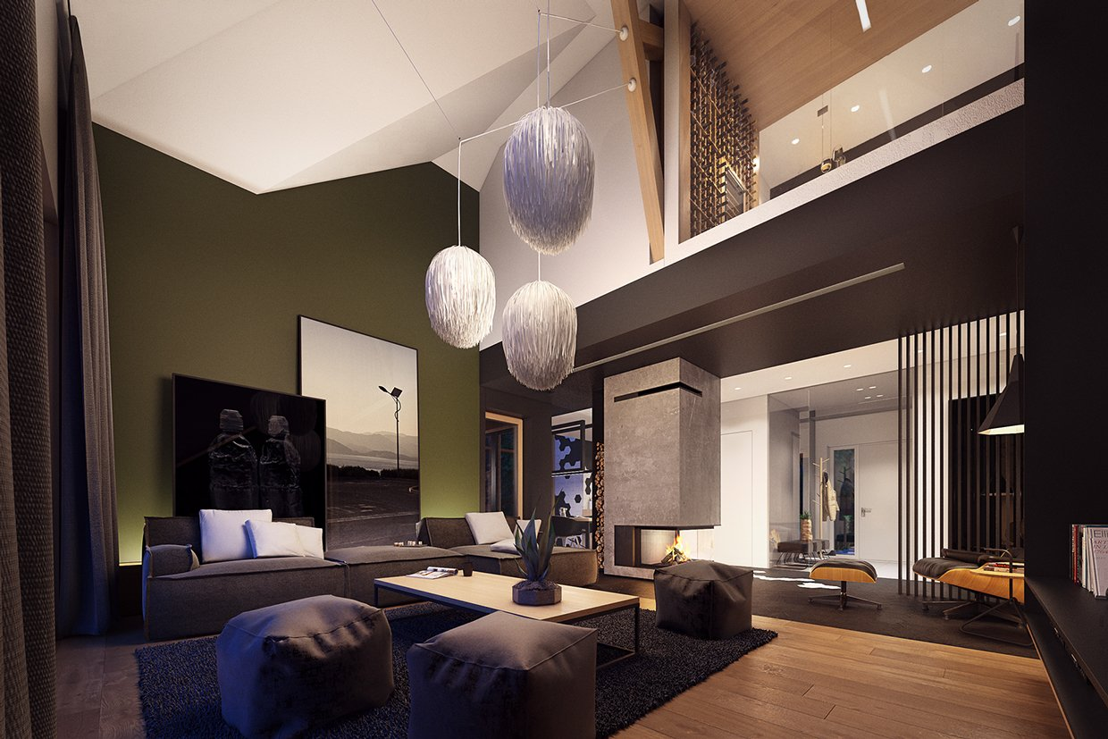 How To Divide An Open Plan Space 9 Ideas: Lofted Luxury