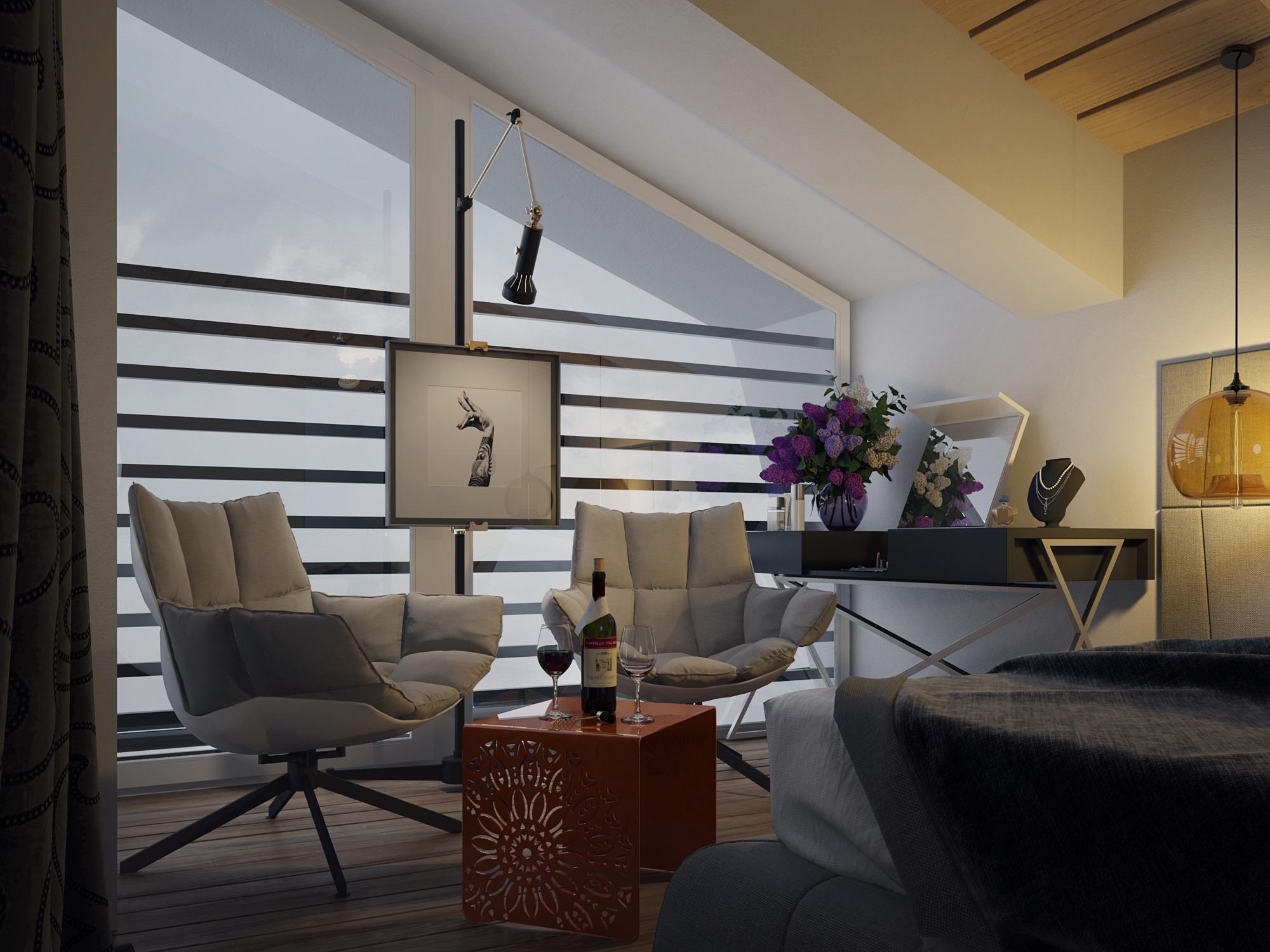 modern cozy home design