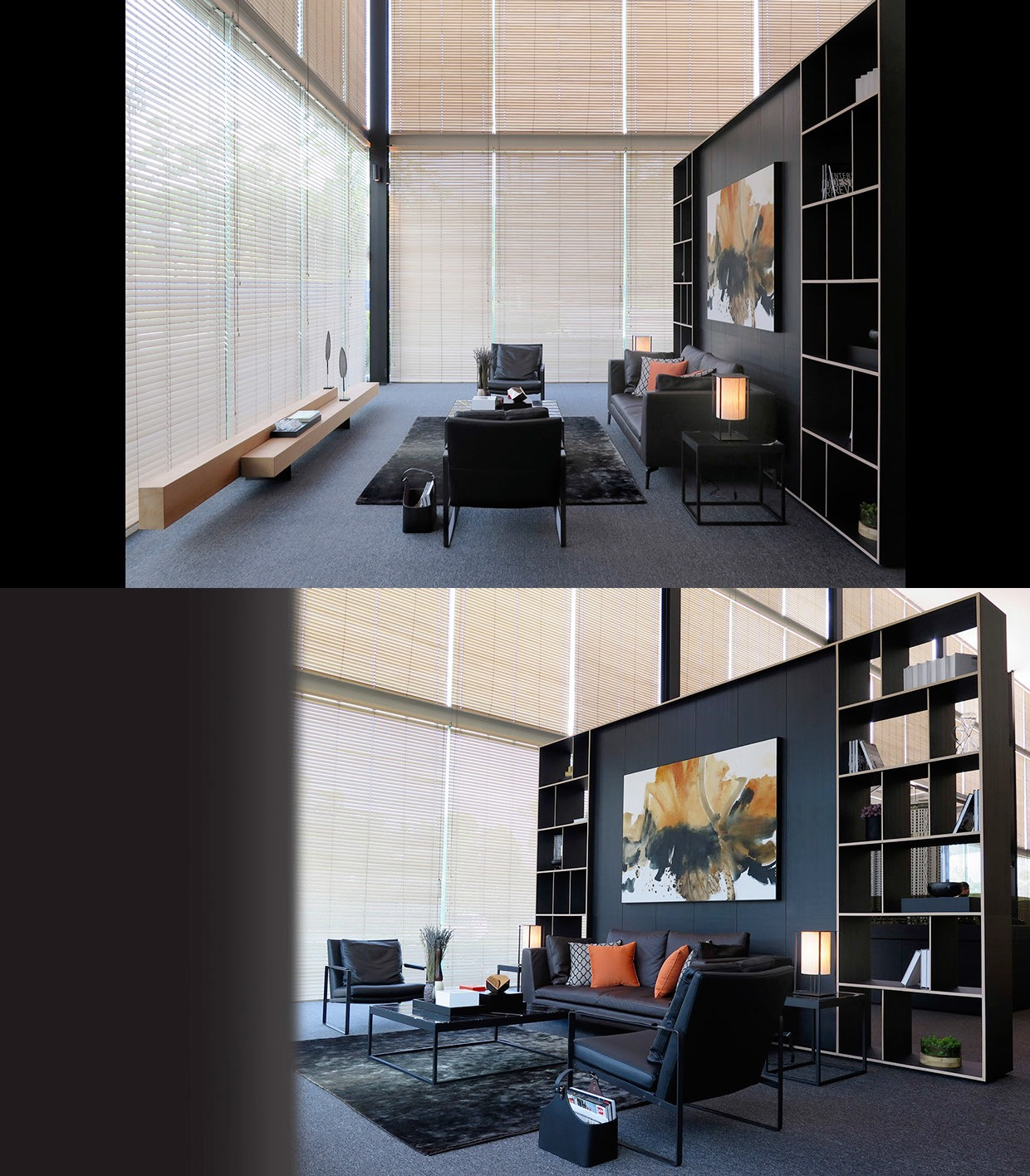 Modern Interior Designer: 25 Modern Living Rooms With Cool, Clean Lines