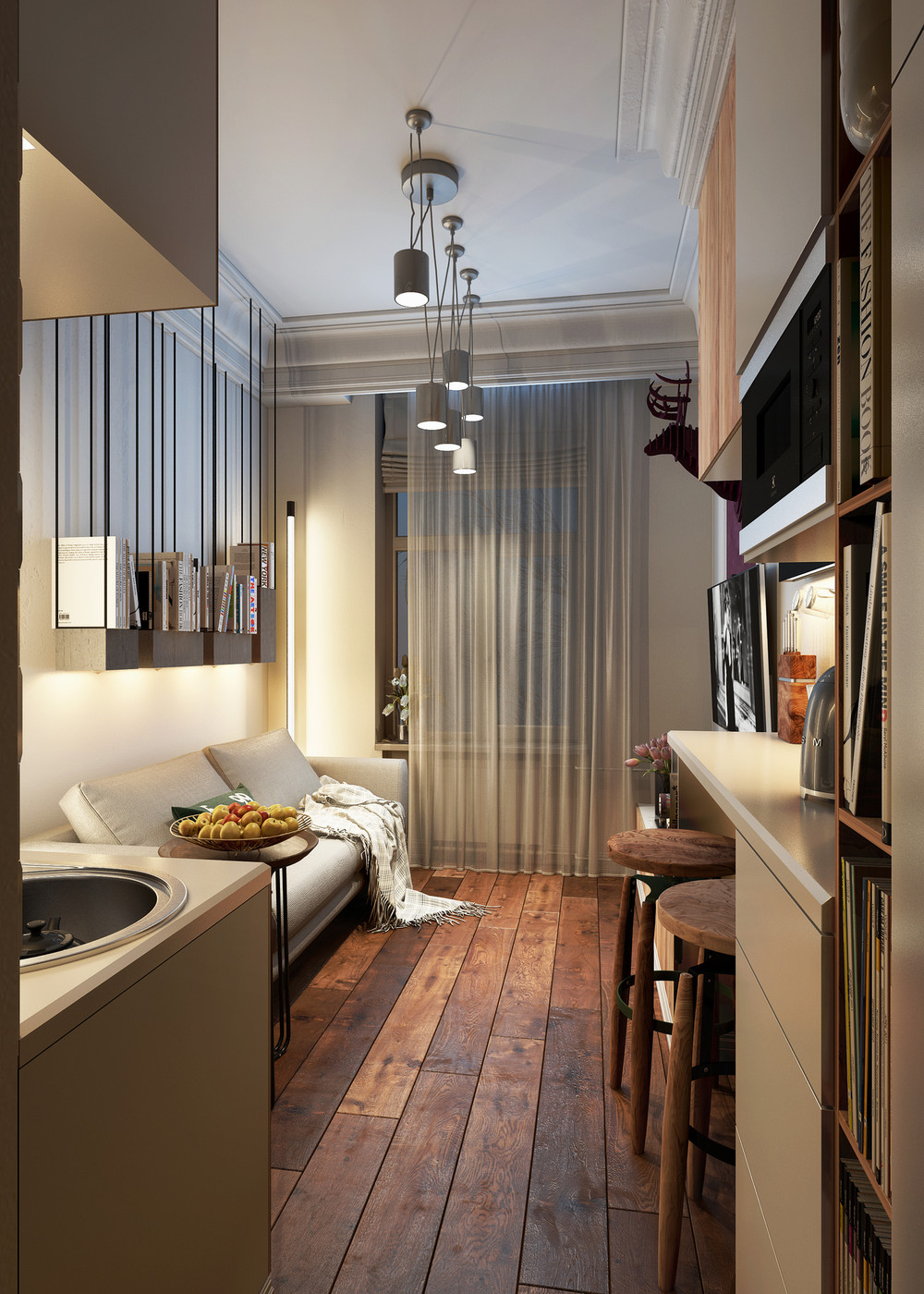 Apartment: Designing For Super Small Spaces: 5 Micro Apartments