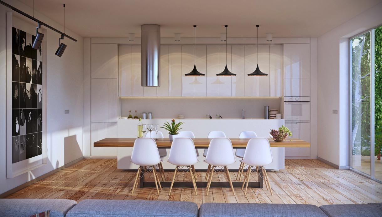 Eames Dining Chair Interior Design Ideas