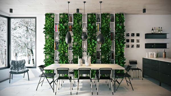 25 gorgeous dining rooms to make you drool when you bring greenery into a dining room like here you automatically turn your
