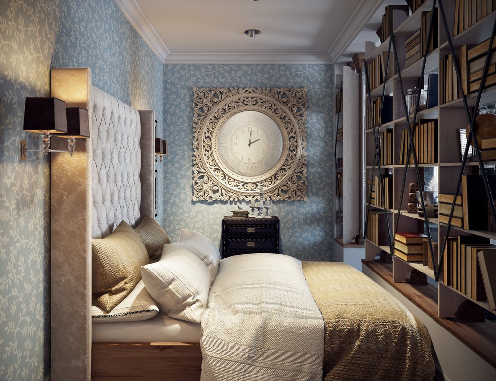 2 single bedroom apartment designs under 75 square meters - Mens bedroom ideas for apartment ...