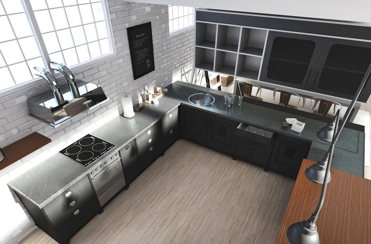 loft kitchen design ideas. Like Architecture  Interior Design Follow Us Loft Kitchen Design Ideas