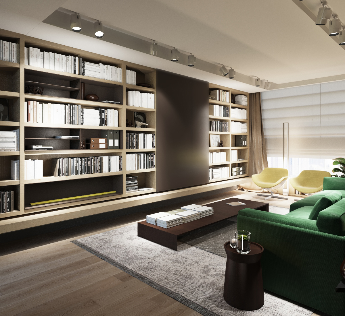 3 examples of modern simplicity - Design my living room ...