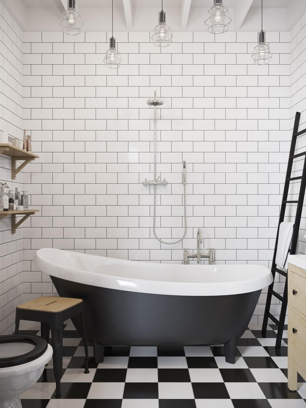 Modern Clawfoot Tub Interior Design Ideas