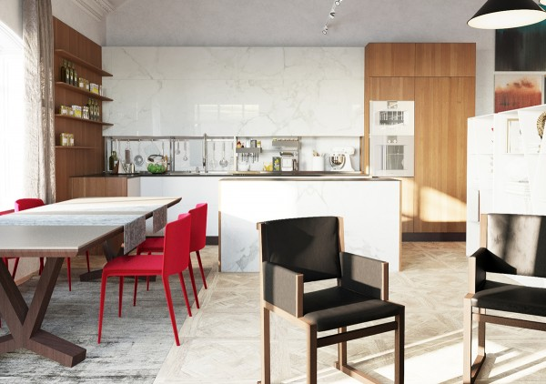 Red dining chairs 3 examples of modern simplicity red dining chairs