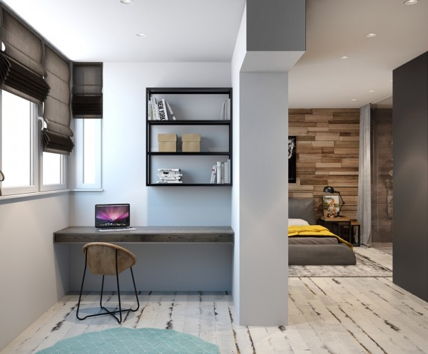 Small home office four homes from the same designer showcase a diversity of style