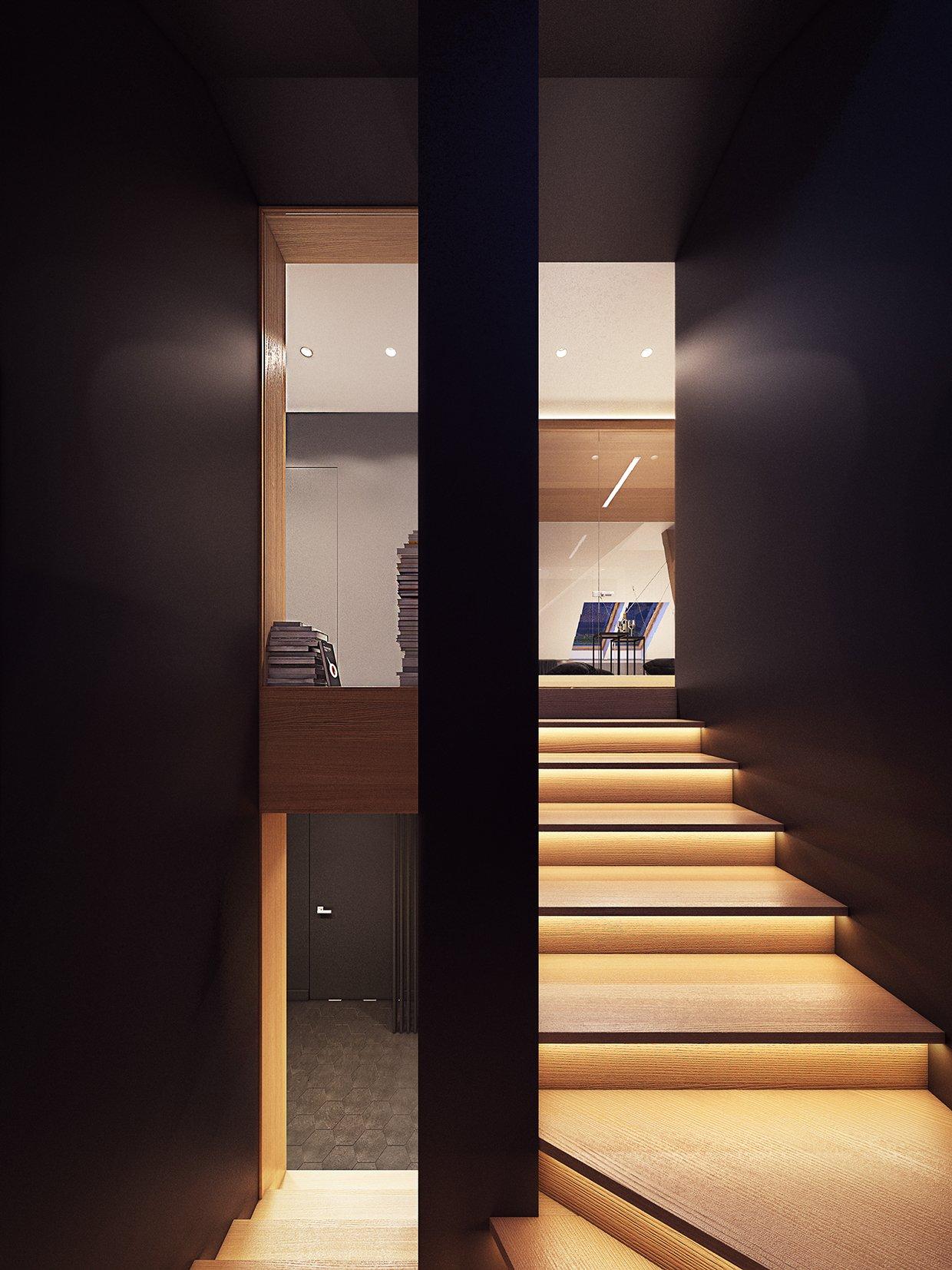 Stair Lighting Ideas Interior Design Ideas