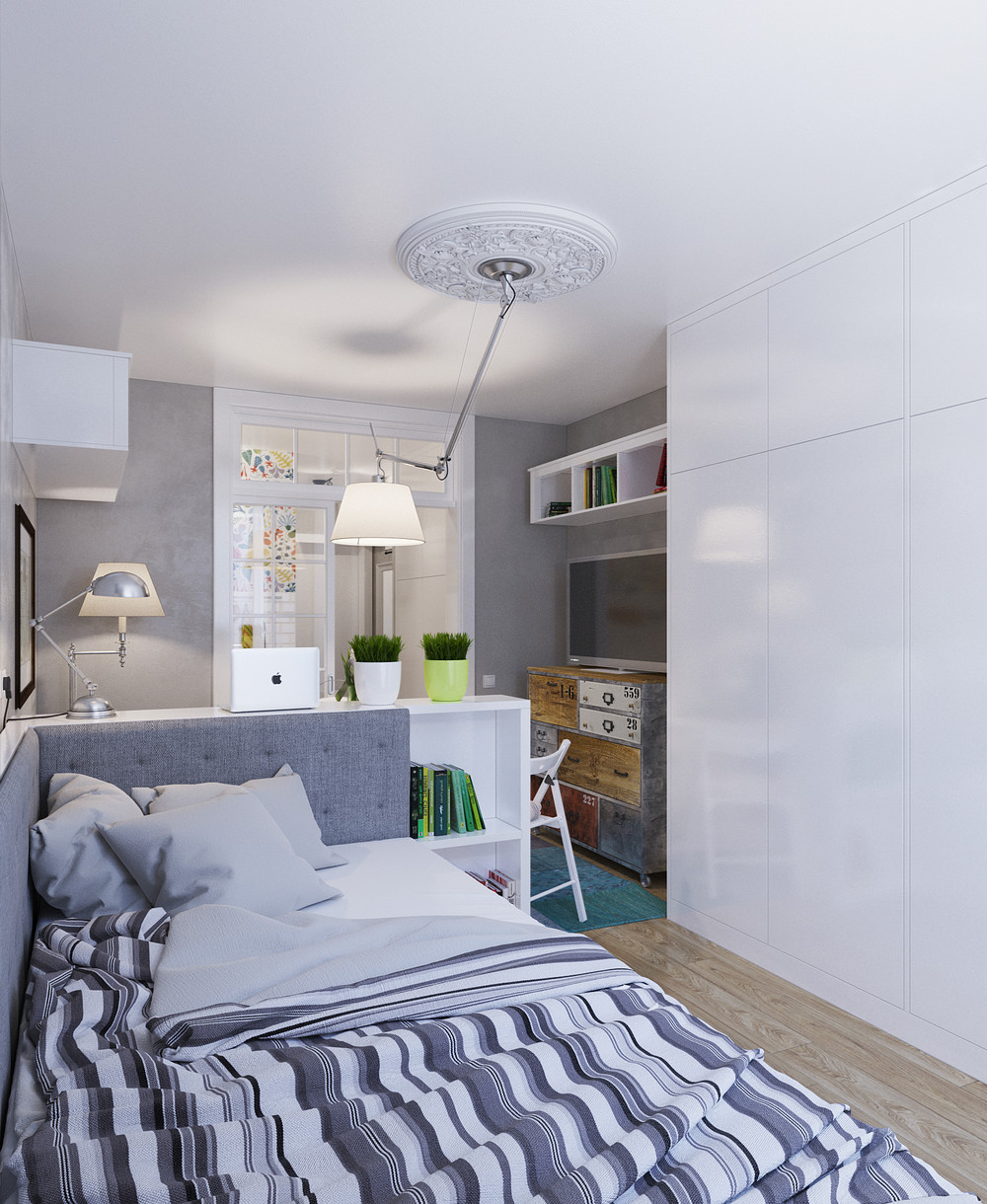 Micro Apartments: Designing For Super Small Spaces: 5 Micro Apartments