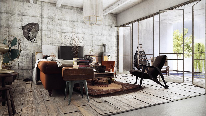 Brown Sofa Interior Design Ideas